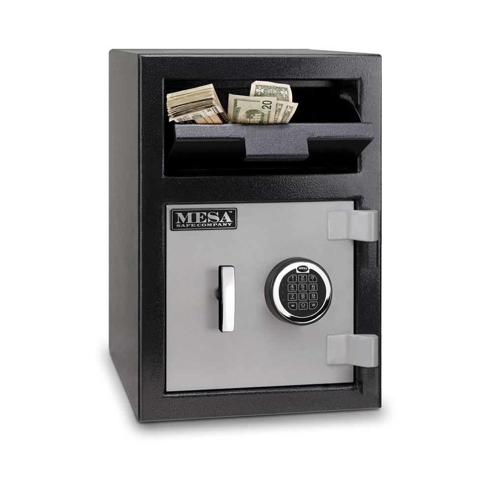 MESA Depository Safe MFL2014E - Open Front Loading Deposit Slot