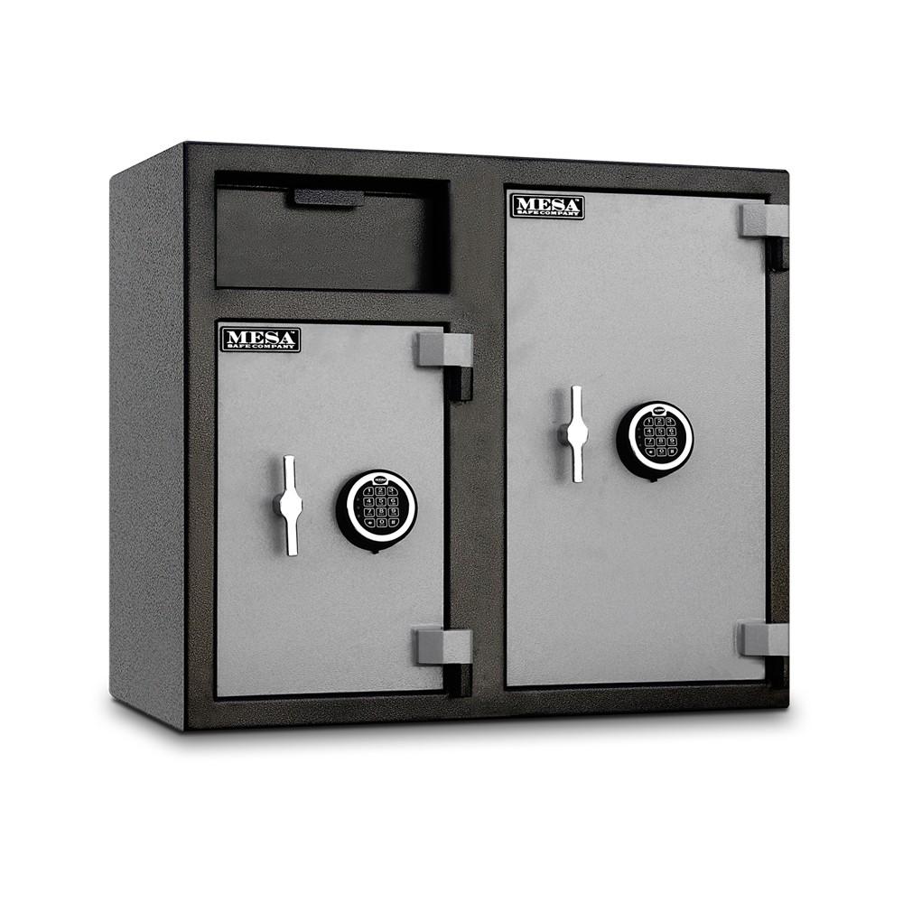 MESA Dual Door Depository Safe MFL2731EE - Angle