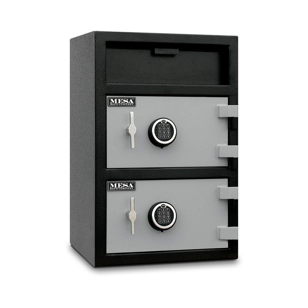 MESA Dual Door Depository Safe MFL3020EE - Angle