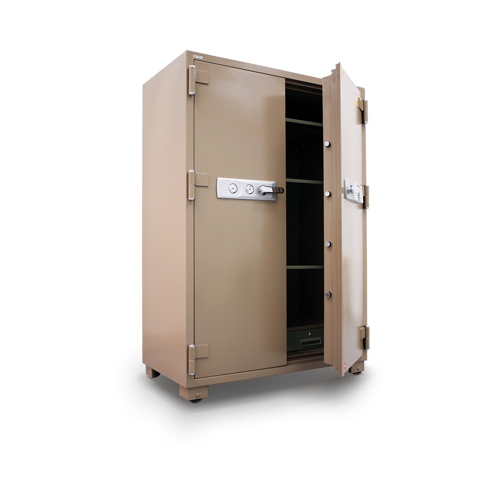 MESA Double Door Fire Safe MFS170DDE - Angle Open