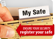 Register Your Safe